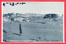 AFRIQUE - SIERRA LEONE - The Barracks , Freetown - Sierra Leone
