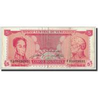 Venezuela, 5 Bolivares, 1989, 1989-09-21, KM:70b, TB+ - Venezuela