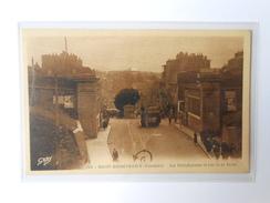 CPA GABY 145 (à Confirmer) BREST RECOUVRANCE Les Fortifications Et Rue De La Porte - Brest