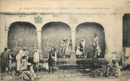 MAROC  -  RABAT -  FONTAINE DE LA SOQQUIA BEN MEQQUI - Rabat