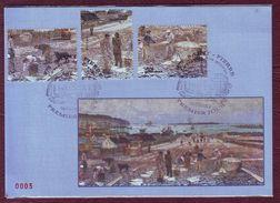 Carte Postale Philatélique - SAINT PIERRE ET MIQUELON - Le Travail Des Graves - 2012 - St.Pierre & Miquelon