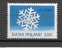1990 MNH Finland, Postfris** - Finland