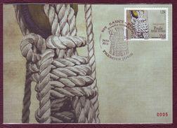Carte Postale Philatélique - SAINT PIERRE ET MIQUELON - La Poulie à Trois Trous - 2013 - St.Pierre & Miquelon