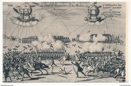 CPA - (Histoire De L'Aérostation) - La Suite De L'invention De La Machine Aérostatique - L'utilisation Des Ballons... - Dirigeables