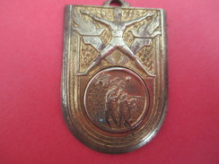 Médaille De Sport/ Basket/ SLG/Critérium / Jeune Basketteur/Bronze Doré/ 1966           SPO200 - Sports