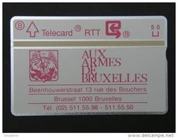P 91. Aux Armes De Bruxelles. 1000 Ex. - Belgium