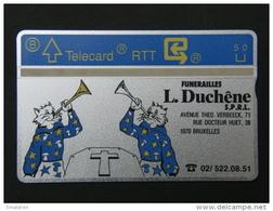 P 110. Funérailles Duchêne. 1000 Ex. - Belgique