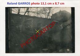 Roland GARROS-Capture-INTERROGATOIRE-Pilote-PHOTO All.-Guerre 14-18-1 WK-Aviation-Fliegerei-Militaria-Aircraf-BELGIEN-!? - War 1914-18