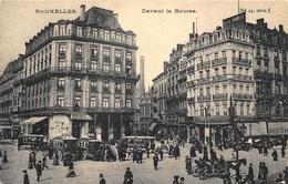 Brussel Bruxelles  Devant La Bourse      I 1374 - Avenues, Boulevards