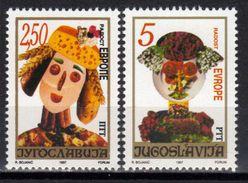 Yugoslavia,Joy Of Europe 1997.,MNH - 1992-2003 République Fédérale De Yougoslavie