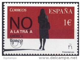 España 2015 **  UPAEP Lucha Contra La Trata De Personas.  See Desc. - 2011-... Unused Stamps