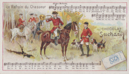 Chromos - Chromo Suchard - Chasse à Courre - Musique Sonneur Piqueur - Suchard