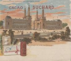 Chromos - Chromo Cacao Suchard - Exposition Universelle Paris 1900 Entrée Côté Invalides - Suchard