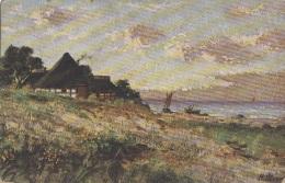 Hongrie - Paysage Illustrateur - Postmarked Budapest 1912 - Hedves Vali ! - Bos Novi Bosnia - Hungary