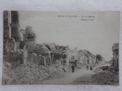 REIMS - Rue De Bétheny - Guerre/Militaria/Ruines/Bombardements - CPA - CP - Carte Postale - Reims