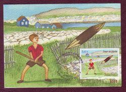 Carte Postale Philatélique - SAINT PIERRE ET MIQUELON - Jouer Au Pipette - 2012 - St.Pierre & Miquelon