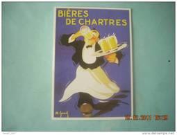 CLOUET  100657  BIERES DE CHATRES   LE MONNIER - Advertising