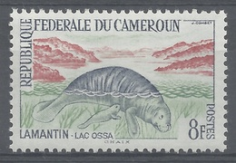 Cameroon, African Manatee (Trichechus Senegalensis), 8f., 1962, MH VF - Cameroon (1960-...)