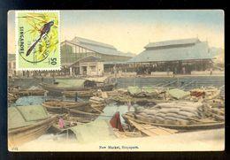 New Market Singapore / Postcard Circulated - Singapour