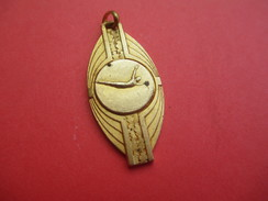 Médaille De Sport/Natation/ TREMPLIN/CIF/4éme Série /Bronze Doré Et écusson émaillé /1970      SPO206 - Natación