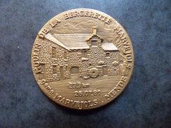 Superbe Medaille Bronze Course Semi Marathon  Marvejols - Mende 9ème Edition 1981 - Athlétisme - Athlétisme