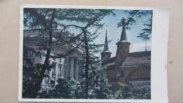 AK Color Nr. 17 Aus Krakau Mit Rundbastei Und Gebäude Der Emissionsbank - Polen