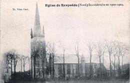 (59) Eglise De Rexpoëde - Reconstruite En 1900 1904 - Autres Communes