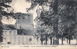 (59) Watten - Vue De La Tour Et De La Ferme De L'Abbaye - Sonstige Gemeinden