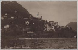 Lago Di Lugano - Castagnola - Photo: Ditta G. Mayr No. 404 - TI Tessin