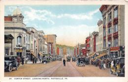 POTTSVILLE PA USA - Center Street Looking North - Etats-Unis