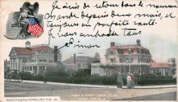 West End NJ USA - Casino & Pennsylvania Club - Etats-Unis