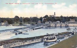 Philadelphia PA USA - Old Water Works At Fairmount Dam And Canal - Philadelphia