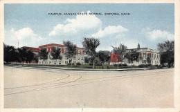 Emporia KS US - Campus Kansas State Normal - Etats-Unis