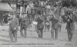 Washington DC US - G.A.R. Veterans - Fife And Drum Corps Of Michigan Parade Sept 29 1915 - Washington DC