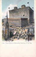 New York City NY US - Grace Church And Wanamaker Buildings - Églises