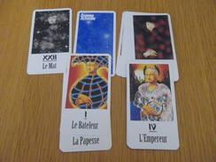 TAROTS - ésotérisme - 22 Cartes - FEMME ACTUELLE - Tarot-Karten