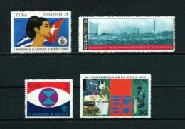 Cuba  Nº Yvert  1417-1425-1433/4  En Nuevo - Nuevos