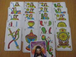 TAROTS - ésotérisme - 48 Cartes - TZIGANE - VOICI - Tarots