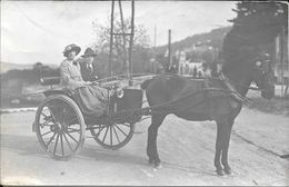 ADELBODEN BERNE SUISSE CIRCA 1910 VOITURE ANIMEE CPA PHOT. M. THANHOFFER STRESA CASINO KURSAAL RARE VOIR SCAN - BE Berne