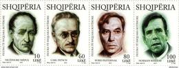 Albania Stamps 2015. Nicéphore Niépce, Carl Patsch, Boris Pasternak, Norman Wisdom. Set MNH - Albania