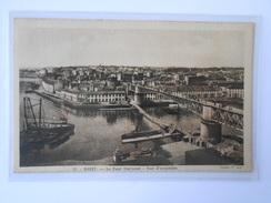 CPA GABY 15 BREST Le Pont National Vue D'ensemble (Nantes N° 1046) - Brest