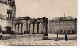 -62- CALAIS - Les Ruines De La Grande Guerre . Place Crévecoeur Le Lavoir - Calais