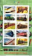 France.bloc No 38 De 2001.collection Jeunesse.les Légendes Du Rail.n**. - Nuovi