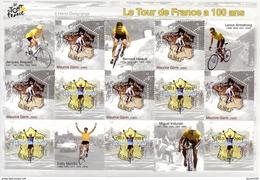 France.bloc No 59 De 2003.le Tour De France A 100 Ans.n**. - Mint/Hinged