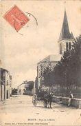 79-BRIOUX- PLACE DE LA MAIRIE - Brioux Sur Boutonne