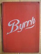 Porte-menu Publicitaire Original  BYRRH De VIOLET Frères à THUIR - Plaques En Carton