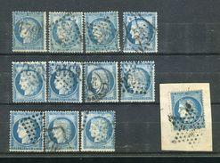 Lot De N° 60 - 1871-1875 Ceres