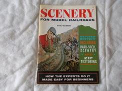 SCENERY For Models Railroads By Bill Mc Clanahan Modèlisme Train - Boeken, Tijdschriften, Stripverhalen