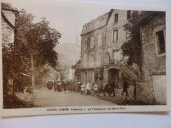 Grand Vabre, La Procession De Saint-Roch. - France