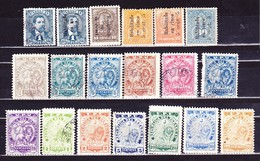 Paraguay 1901-1903 (Satz) - Paraguay